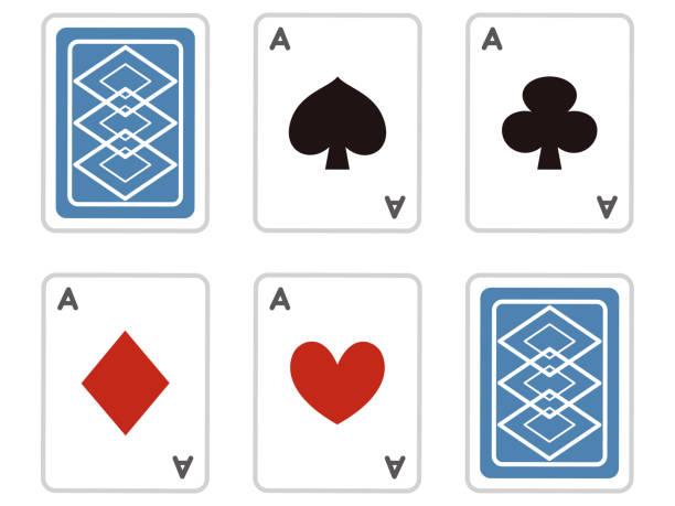 illustrazioni stock, clip art, cartoni animati e icone di tendenza di trump card set - trump