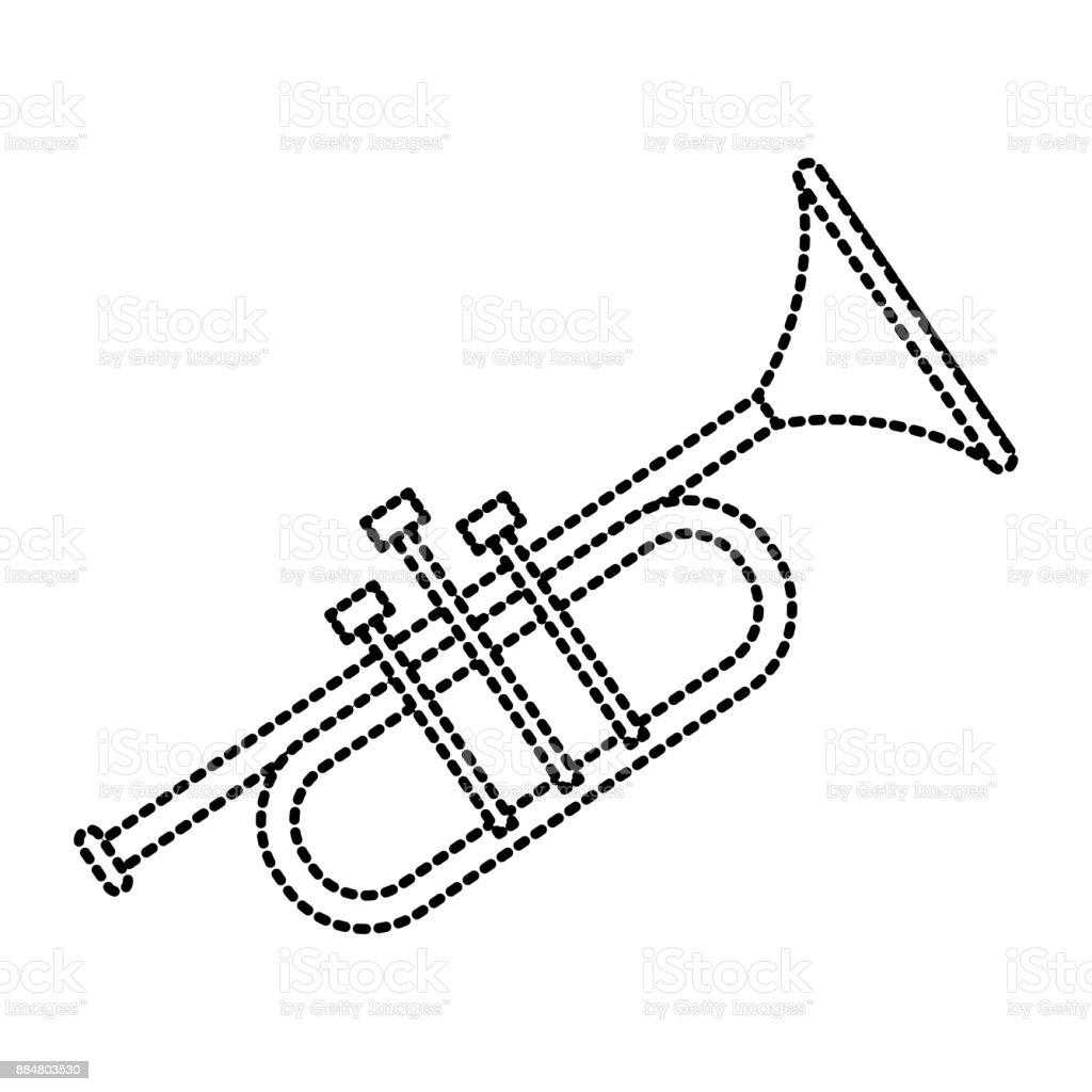 Trumpet Music Instrument Stock Illustration - Download Image
