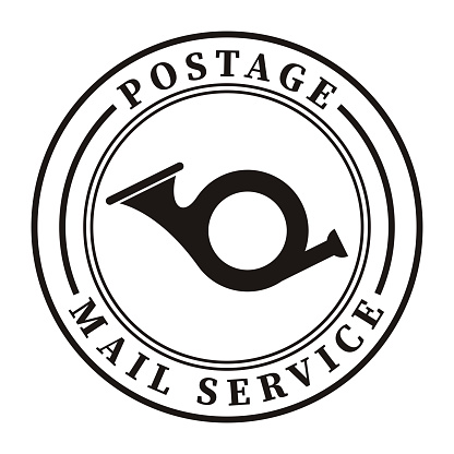trumpet postage seal