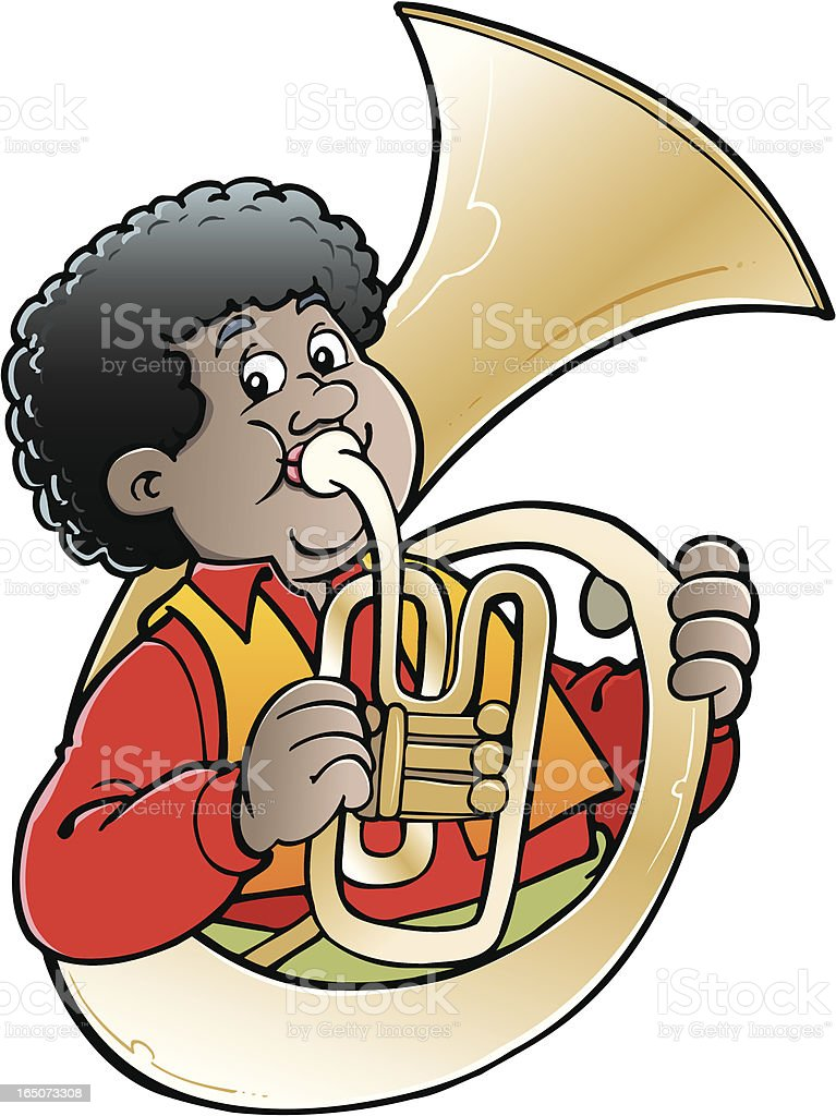 Trumpet royalty-free trumpet stock vector art & more images of adult