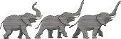 Trumpeting elephants