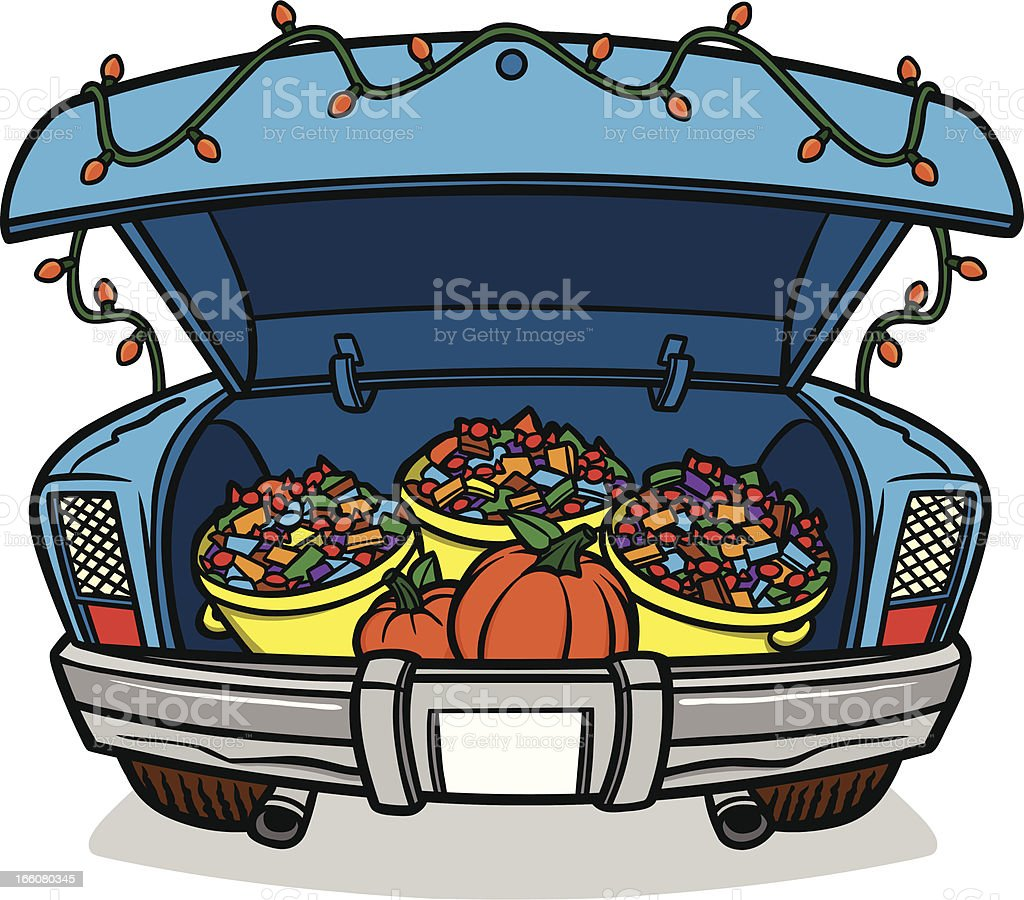 royalty free car trunk clip art vector images illustrations istock rh istockphoto com trunk or treat clipart free halloween trunk or treat clipart