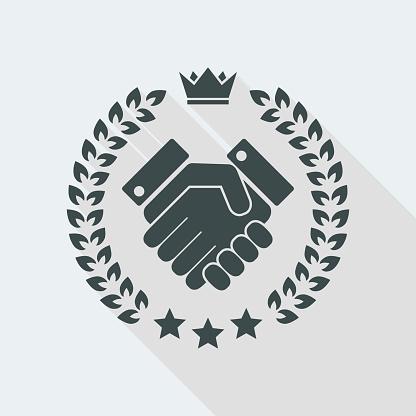 Vertrauen Sie Auf Ein Symbol Stock Vektor Art und mehr