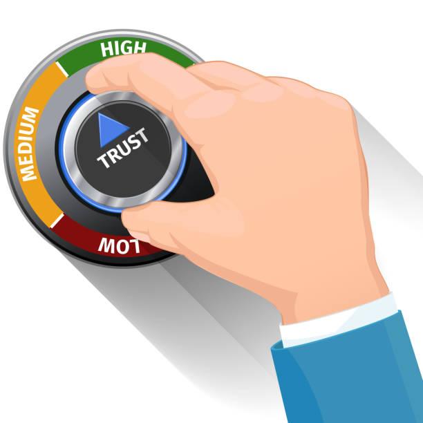 Vertrauen knob