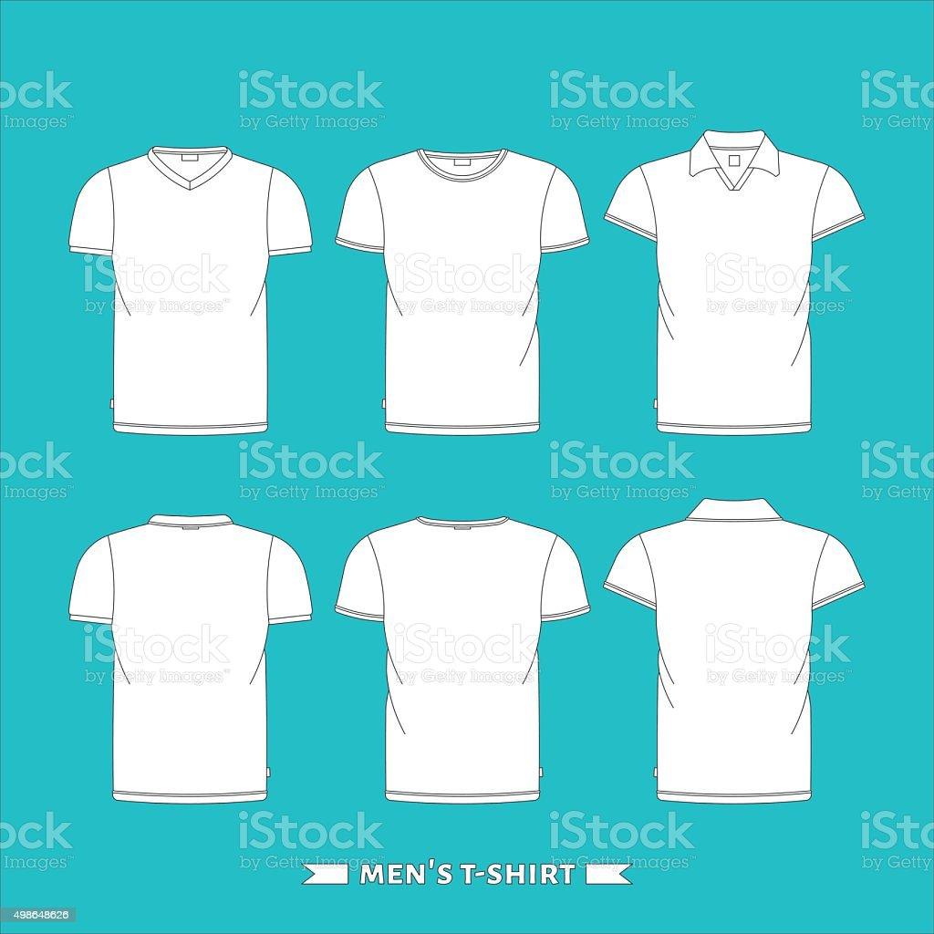 T-shirt 3 vector art illustration