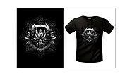 T-shirt Celtic dragon
