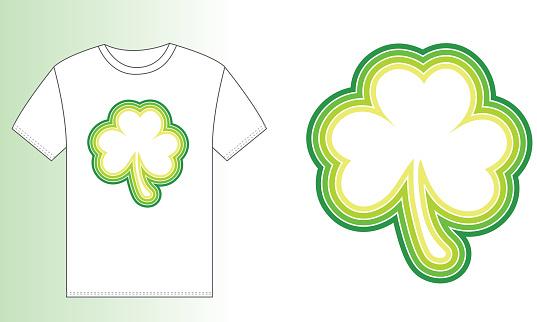 T-shirt design (Clover)