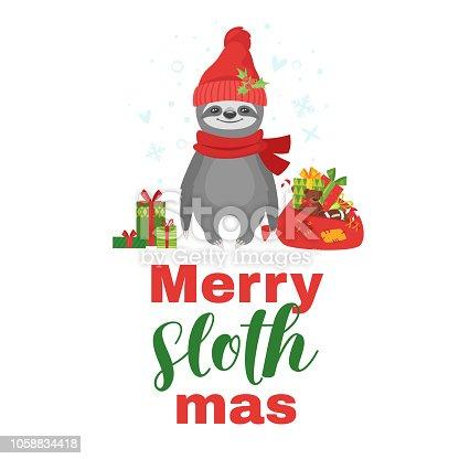 tshirt design with sloth