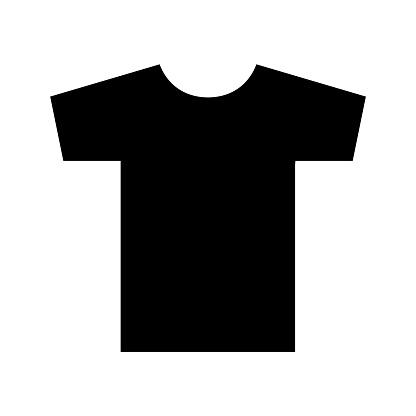 tshirt icon logo isolated on white background stock illustration download image now istock https www istockphoto com vector t shirt icon logo isolated on white background gm1192672594 338953154