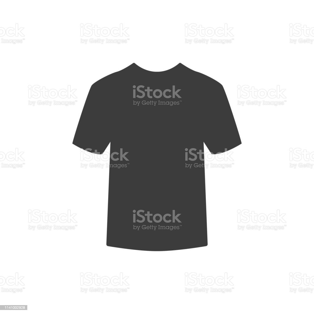 tshirt icon on white background stock illustration download image now istock https www istockphoto com vector t shirt icon on white background gm1141002928 305517968