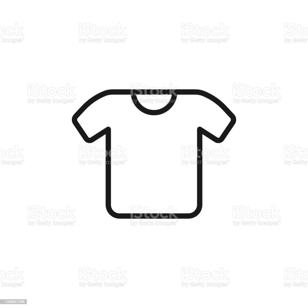 tshirt icon plain shirt sportive shirt white tshirt clothes icon for perfect ecommerce websites and mobile app ui designs stock illustration download image now istock https www istockphoto com vector t shirt icon plain shirt sportive shirt white t shirt clothes icon for perfect e gm1266601066 371345360