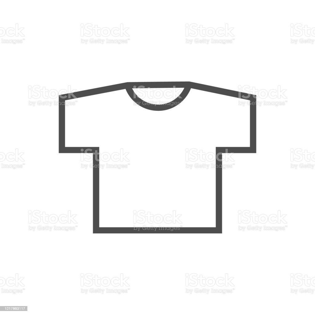 tshirt icon stock illustration download image now istock https www istockphoto com vector t shirt icon gm1217863117 355663108