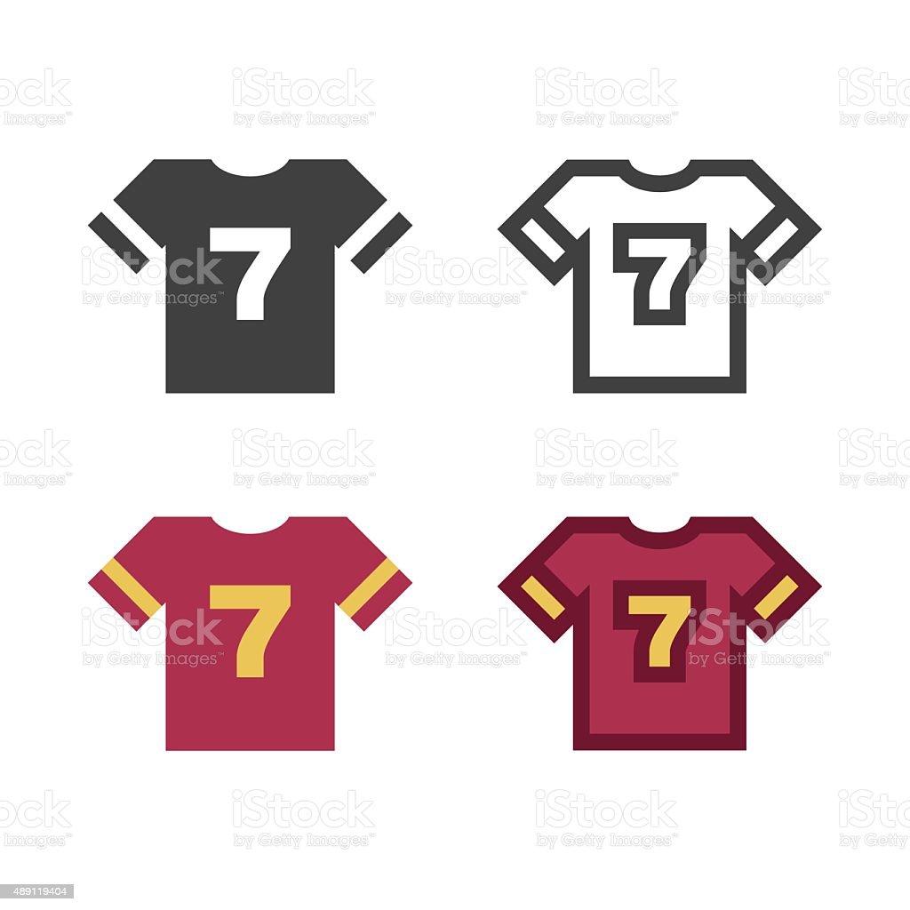 T-Shirt Icon vector art illustration
