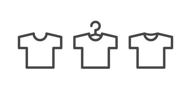 t シャツのアイコン - tシャツ点のイラスト素材/クリップアート素材/マンガ素材/アイコン素材