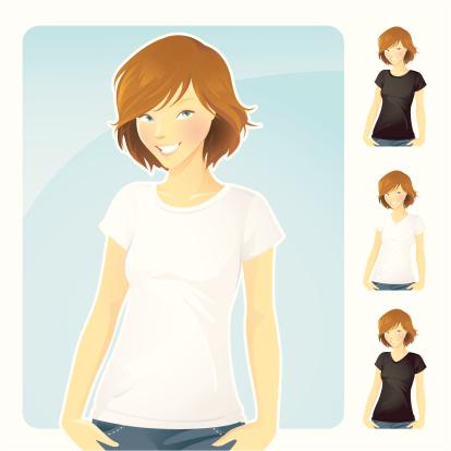 T-Shirt & Jeans _Girl
