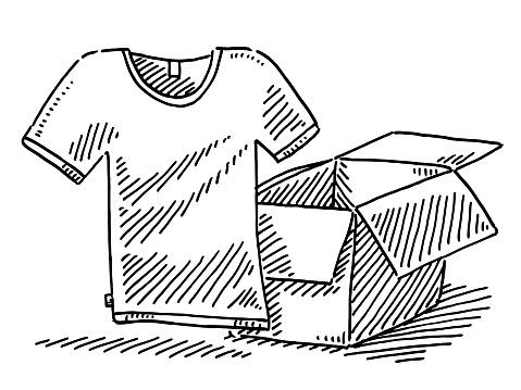 Camiseta de dibujo de la parcela