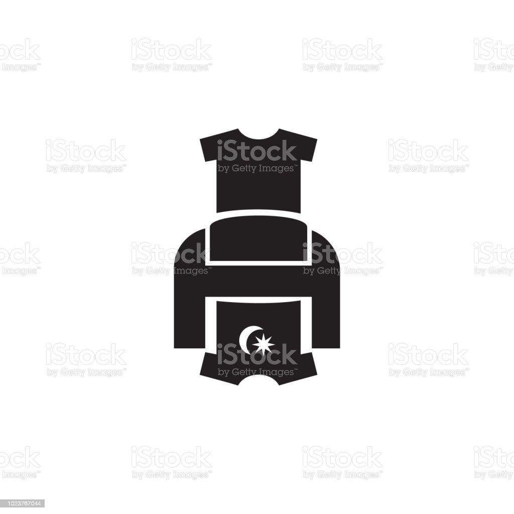 Tshirt Printer Icon Element Of Printing House Illustration Premium