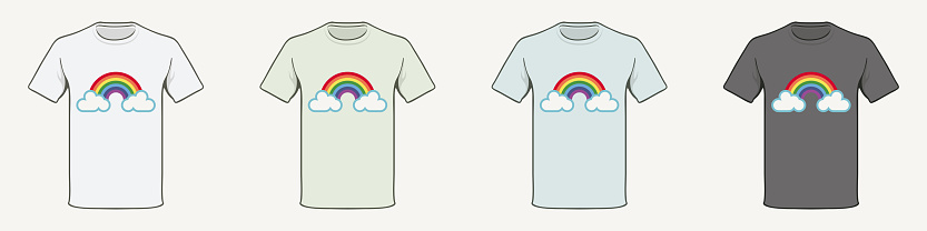 T-shirt Rainbow Hope.
