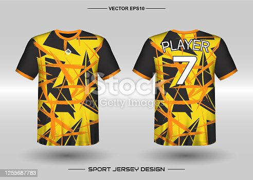 Clothing Men adult. Can use for printing, branding logo team, squad, match event, tournament