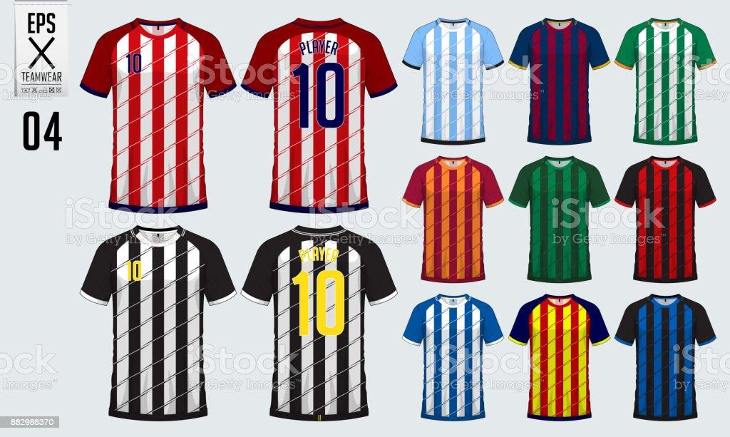 tshirt sport design for soccer jersey football kit or sport uniform