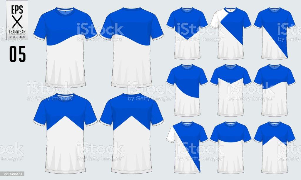 Tshirtsportdesign Für Fußballtrikot Fußballkit Oder Sport ...