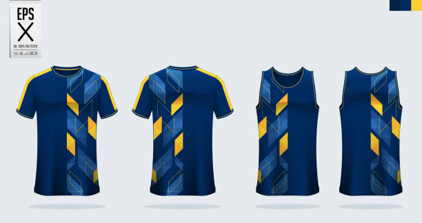 T-shirt sport mockup template design for soccer jersey, football kit. Tank top for basketball jersey and running singlet. Sport uniform in front view and back view. Shirt Mockup Vector. T-shirt sport mockup template design for soccer jersey, football kit. Tank top for basketball jersey and running singlet. Sport uniform in front view and back view. Shirt Mockup Vector  Illustration. tank top stock illustrations