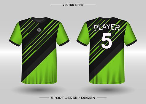 Download Tshirt Sport Vector Design Template Soccer Jersey Mockup ...