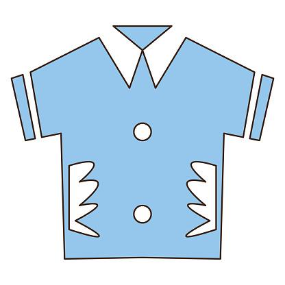 T-shirt summer icon design vector