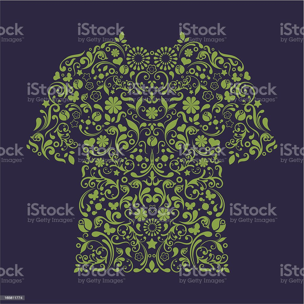 T-shirt. royalty-free tshirt stock vector art & more images of beauty
