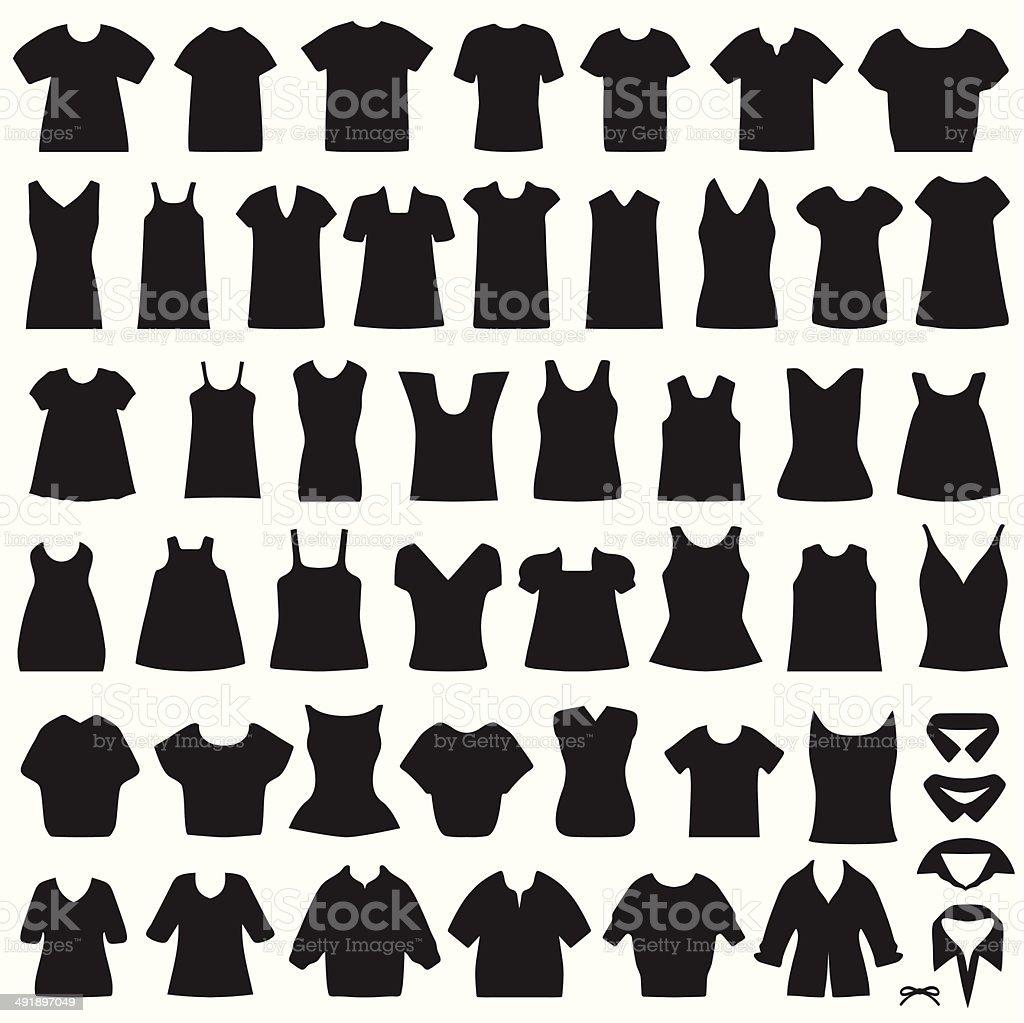 Camiseta - ilustración de arte vectorial