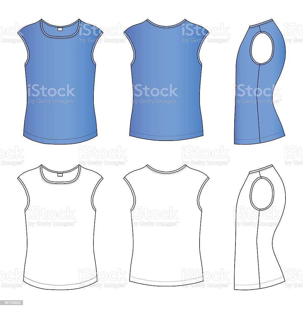 T-shirt vector illustration royalty-free tshirt vector illustration stock vector art & more images of blue