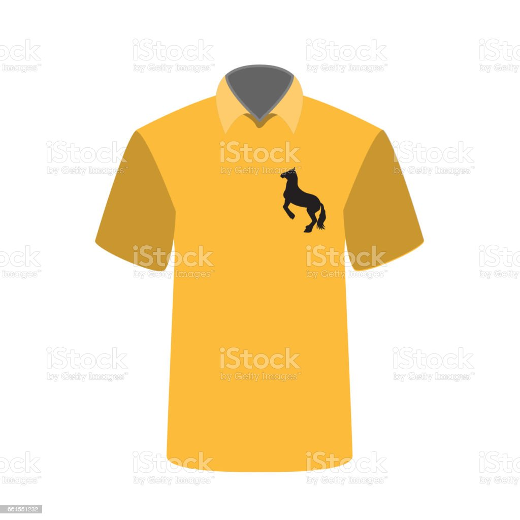 T-shirt with a picture of horse. Vector Illustration royalty-free tshirt with a picture of horse vector illustration stock vector art & more images of adult