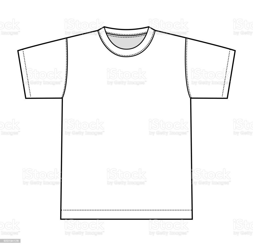 T シャツ イラスト フロントのみ Tシャツのベクターアート素材や画像を