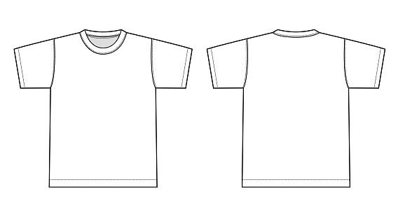 Tshirts illustration (white)