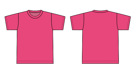 Tshirts illustration ( tropical pink)