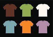blank t-shirt templates.