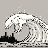 Tsunami monster
