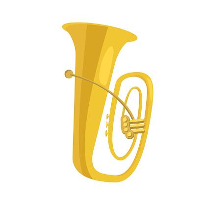 Tuba flat icon