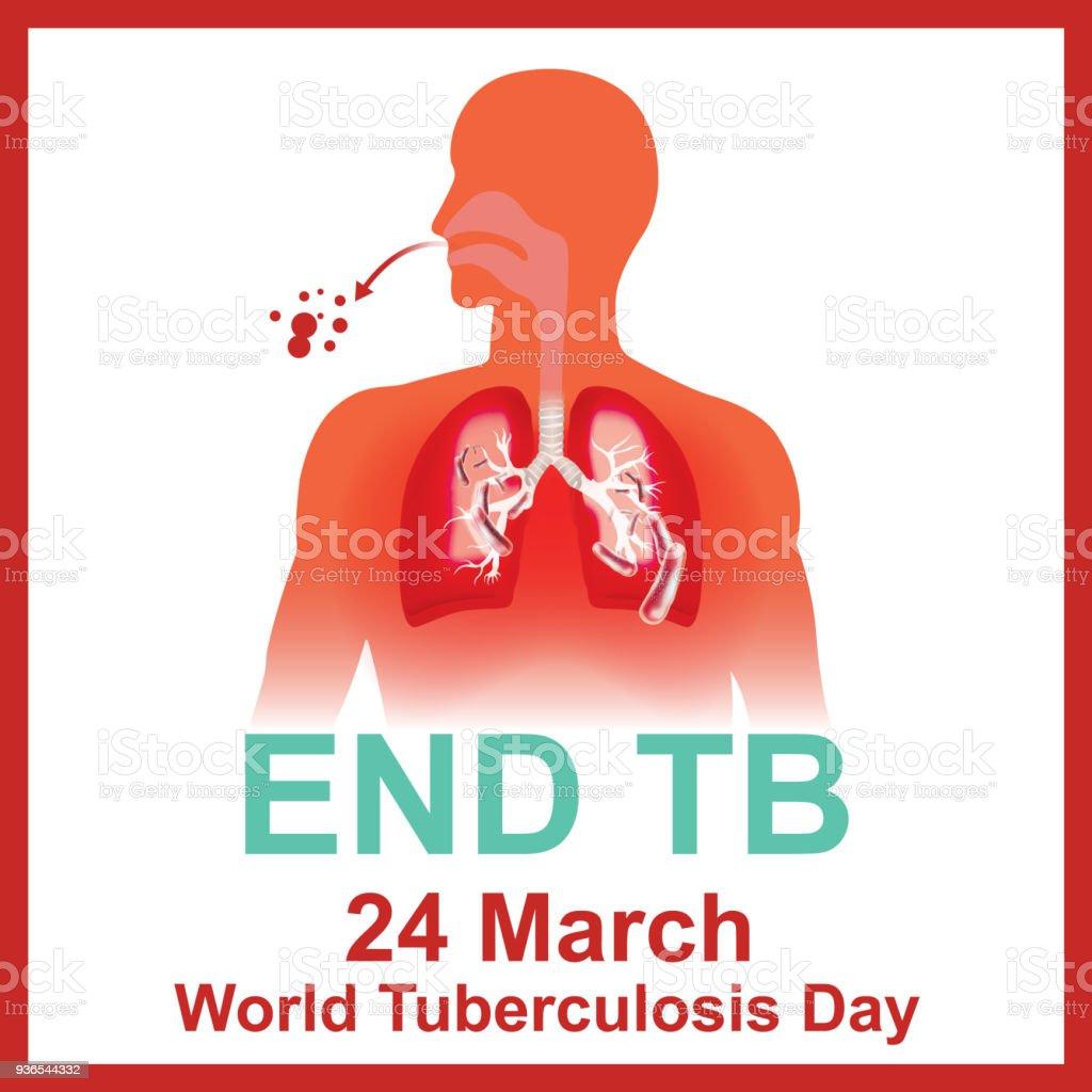 Tuberkulose Tbinfektion Tag Stock Vektor Art und mehr Bilder von ...