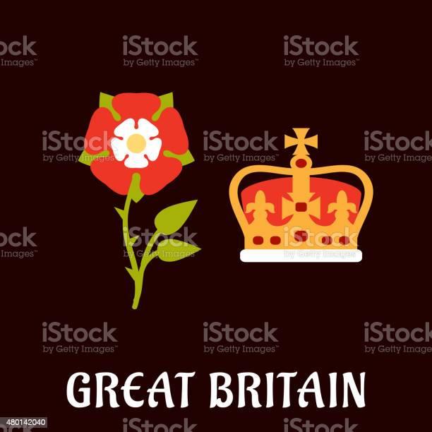 Tudor rose and crown of great britain vector id480142040?b=1&k=6&m=480142040&s=612x612&h=kzzuffud0nepihuntstg bp9nynobvw ag jnn6frsi=