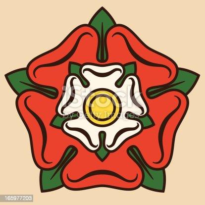 istock Tudor Rose 165977203
