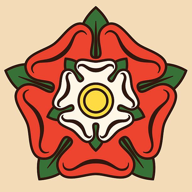 투도르 로즈 - 잉글랜드 문화 stock illustrations