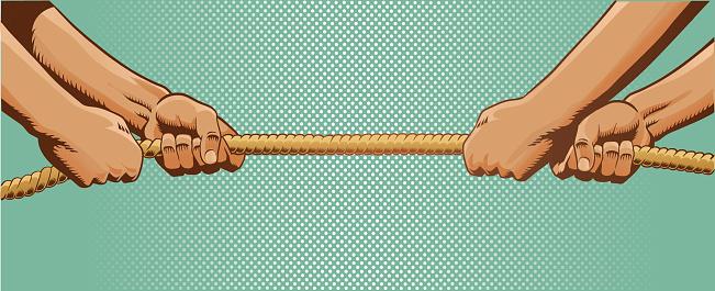 Tug of War - Pulling Rope