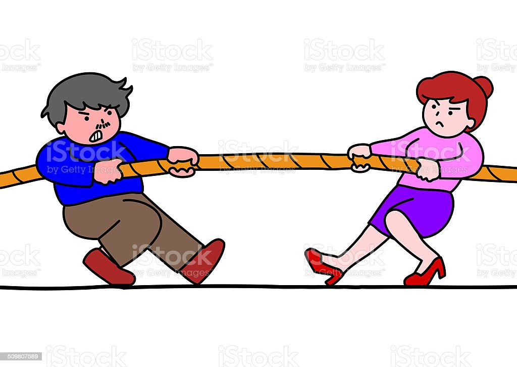 royalty free tug of war white background clip art vector images rh istockphoto com tug of war images clip art tug o war clipart