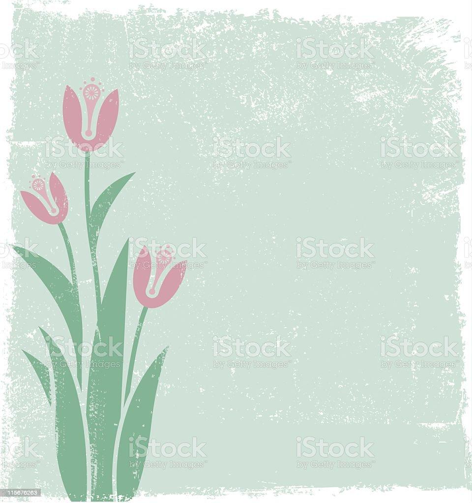 Tulips royalty-free stock vector art