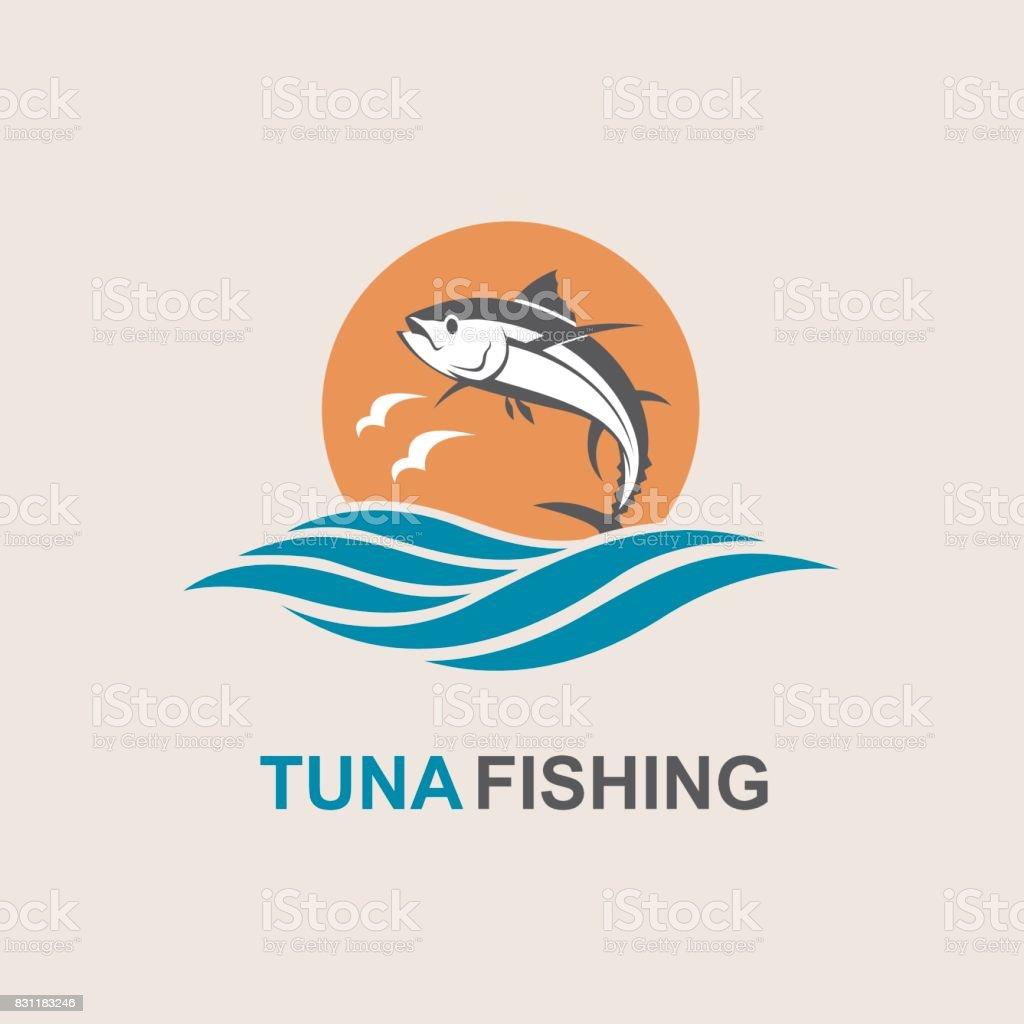 icono de atún - ilustración de arte vectorial