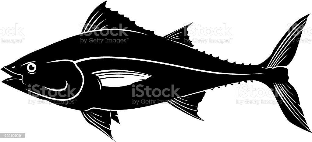 tuna vector vector art illustration