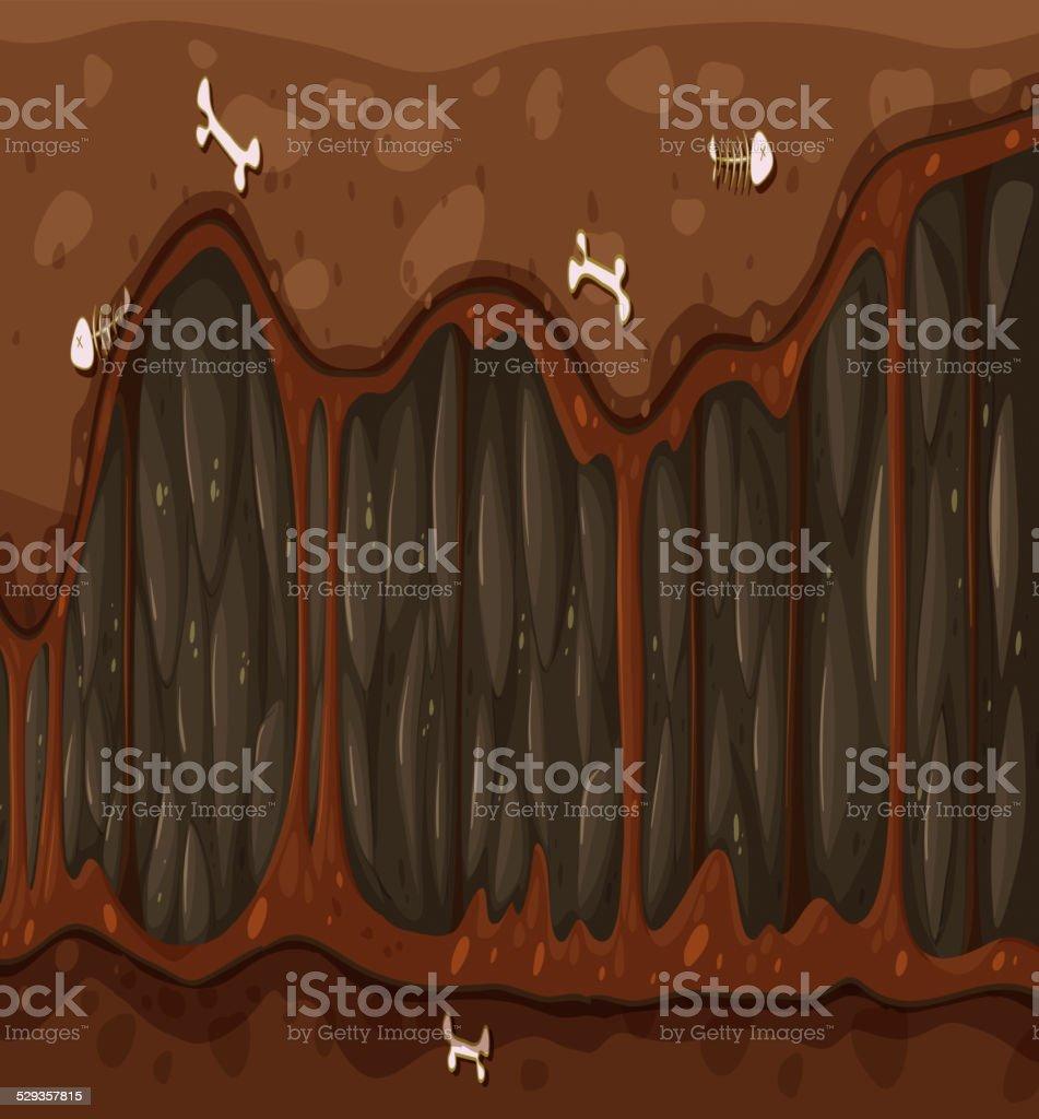 Tunnel vector art illustration
