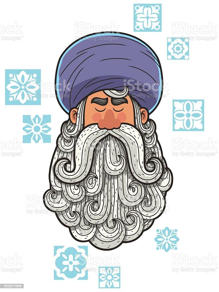 Turban turban - stockowe grafiki wektorowe i więcej obrazów ajatollah royalty-free