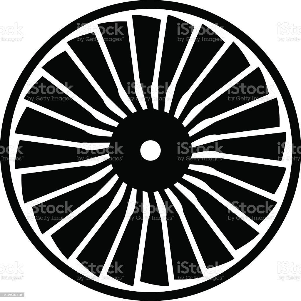 Turbine  – Vektorgrafik